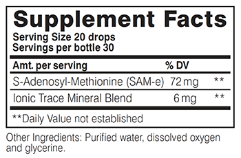 SAM-e Supplement Facts